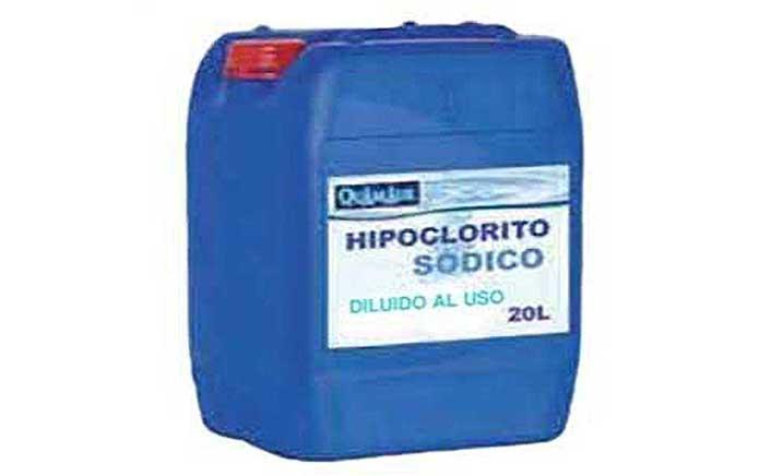 Hipoclorito diluido al uso 20 Litros