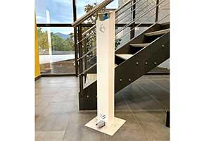 Dispensadores de gel hidroalcohólico automáticos