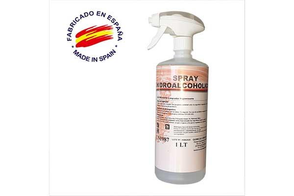 Spray hidroalcohólico 1 Litro