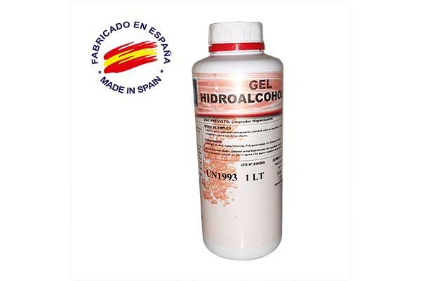 Gel hidroalcohólico 1 litro al por mayor