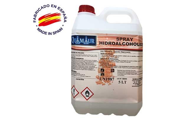 Spray hidroalcohólico 5 Litros al por mayor
